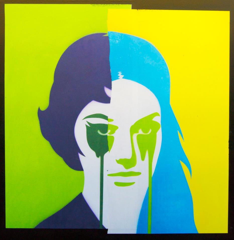 Stencil Canvas Spray Paint