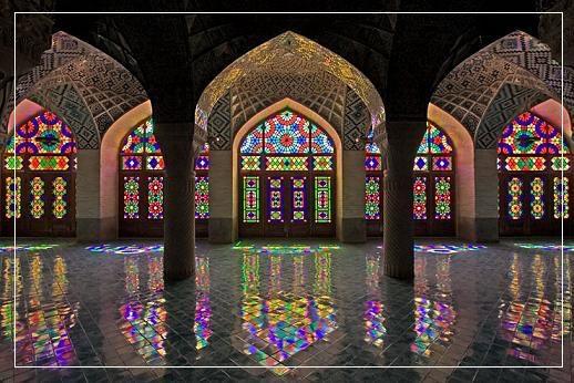 Nasir Mosque in Shiraz, Iran | anakegoodall: http://anakegoodall.wordpress.com/2012/07/23/nasir-mosque-in-shiraz-iran/