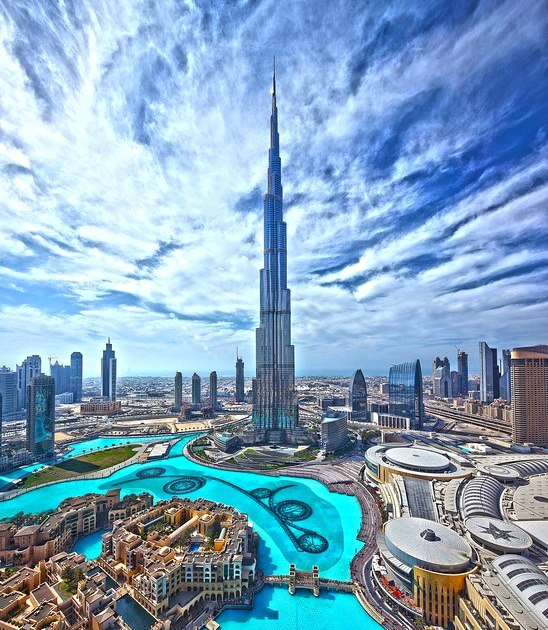 Burj Khalifa Tower Dubai United Arab Emirates Anakegoodall