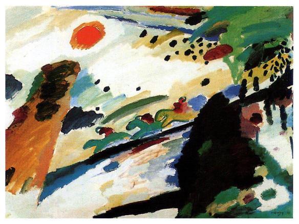 artist: Wassily Kandinsky 1911