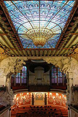 geo - rel, Palau de la Música Catalana