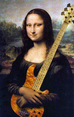 mu - mona lisa guitar