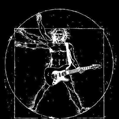 mu - Vetruvian Man guitar