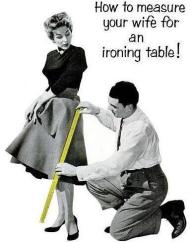 val - ironing table