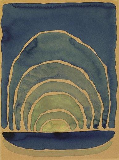 artist: Georgia O'Keeffe 1917