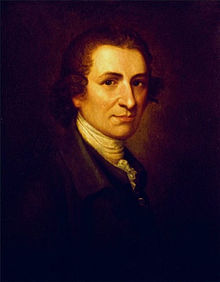 Portrait of Thomas Paine by Matthew Pratt, 1785–1795