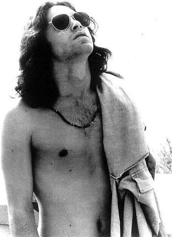Jim Morrison, shades