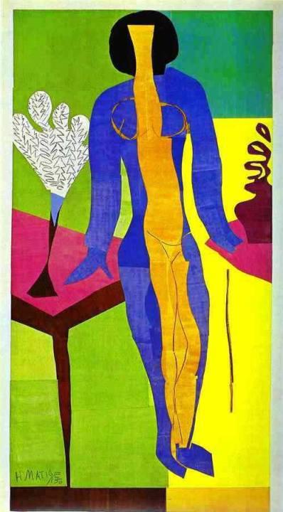 artist: Henri Matisse 1950