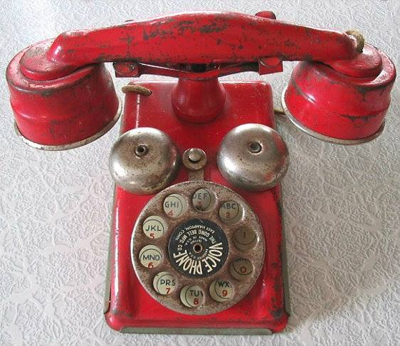 tec - phone old red