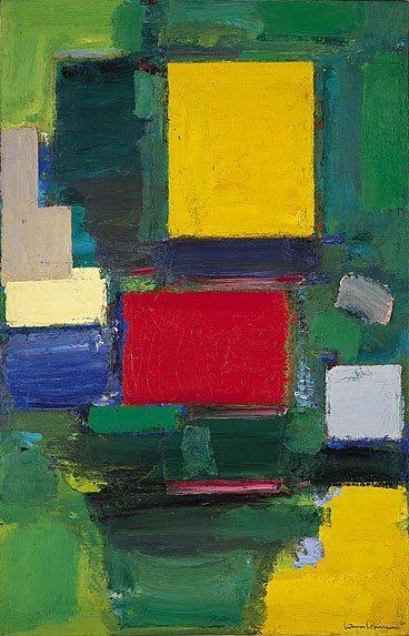 artist: Hans Hofmann  1959–1960