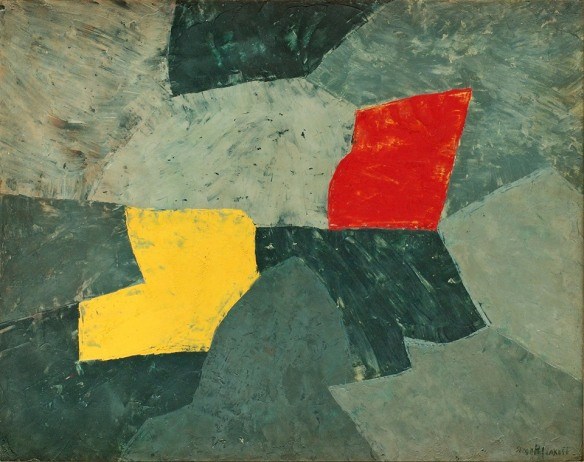 artist: Serge Poliakoff 1954