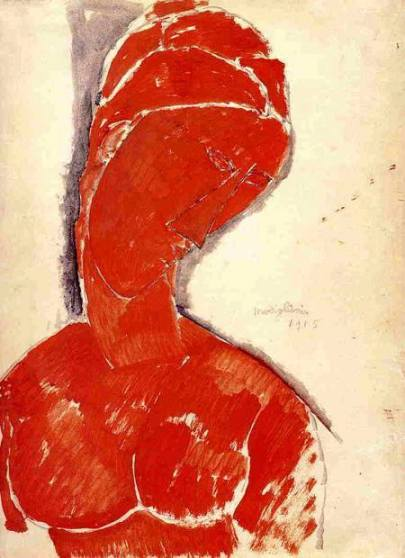 artist: Amedeo Modigliani 1915