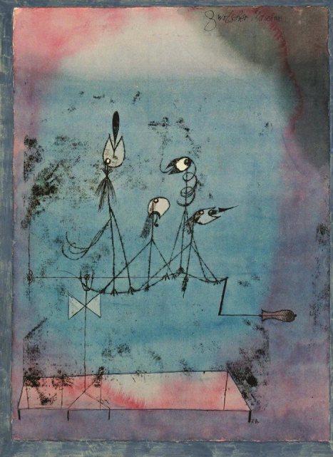 artist: Paul Klee 1922