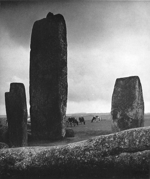 image credit: Bill Brandt, Stonehenge