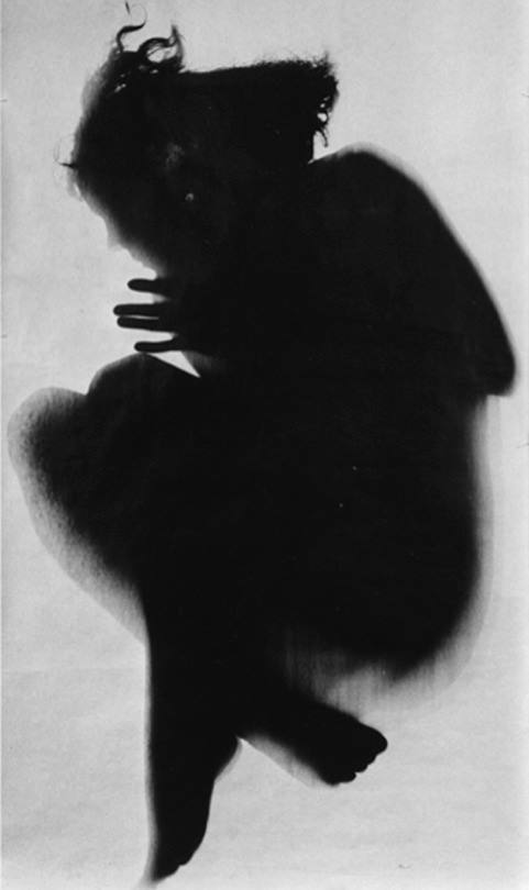 dart - floris neusüss - untitled, gelatin silver print photogram (1962)