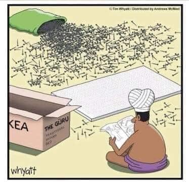 bu - hum ikea bed of nails